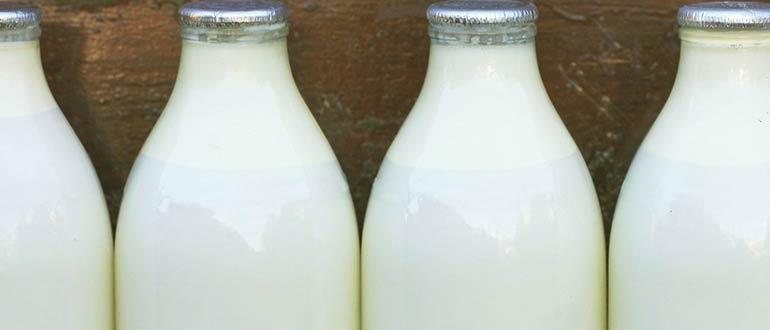 нормализованное дома молоко