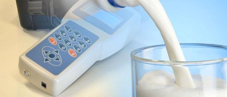 проверка жирности молока