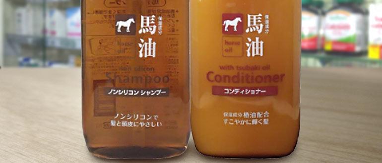 шампунь с конским молоком