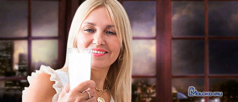 Можно ли молоко на ночь